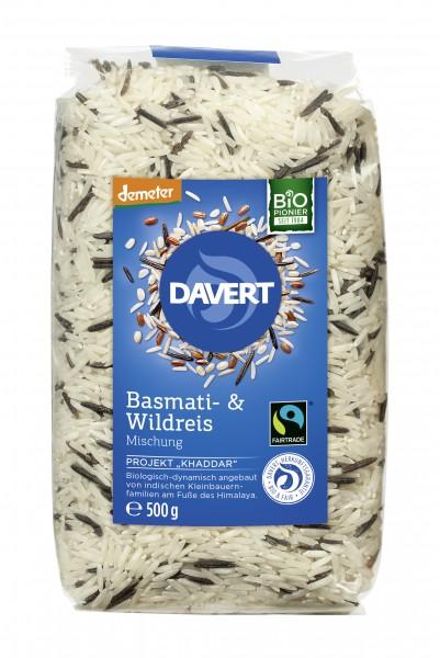 demeter Basmati- & Wildreis Fairtrade 500g