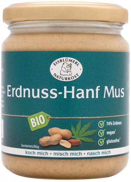 Erdnuss-Hanf Mus 250g
