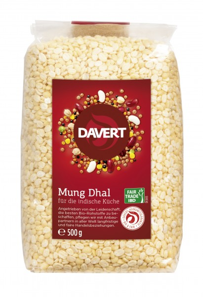 Mung Dhal Fair Trade IBD 500g