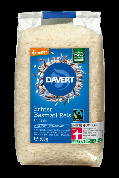 demeter Echter Basmati Reis weiß Fairtrade 500g
